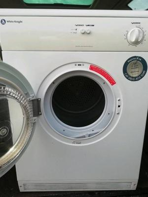 White Knight 6kg tumble dryer good working and cosmetic condition