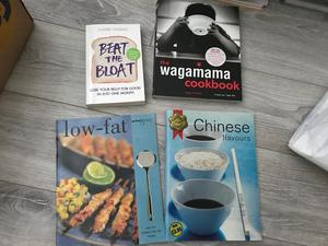 32 cookery books, Mary Berry, Jamie, Rick Stein...and many more