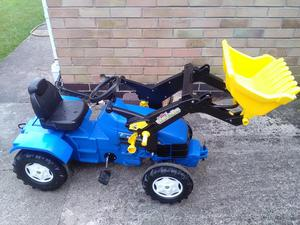 Child's ride on tractor
