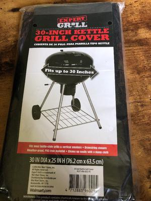 """EXPERT GRILL 30"""" KETTLE GRILL COVER 30"""" X 25"""" WEATHER-PROOF"""