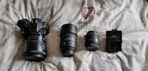 Nikon D Digital SLR camera and Lenses