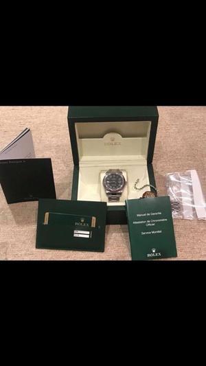 Rolex datejust grey dail with roman numerals