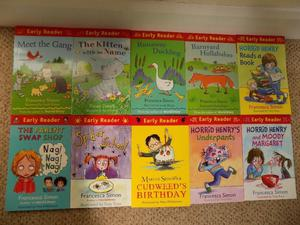 Set of 10 Early Reader Books