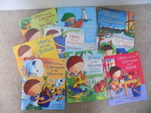 Set of Harry and the Dinosaurs Books