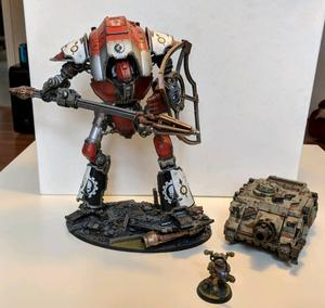Warhammer 40k Forgeworld Knight Lancer Cerastus