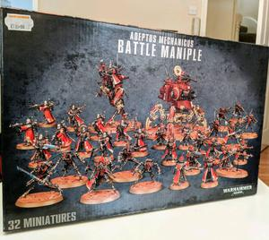 Warhammer 40k adeptus mechanicus battle maniple