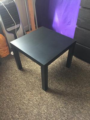 2 ikea Black bedside tables