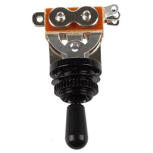 Black Tip 3 Way Toggle Switch Pickup Selector for Electric