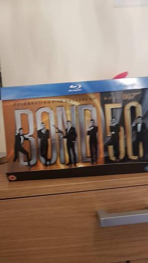 Bond 50 blu ray collection £30