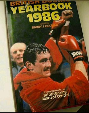 Boxing year book hand signed by multiple boxing legends with Coa