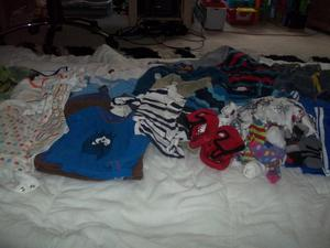 Bundle of baby clothes Age 1-2 Years