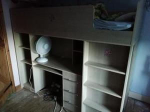 Bunk bed/cabin bed with mattress