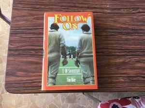 Follow on EW Swanton forward by Tim Rice first edition