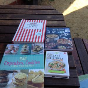 Lovely Recipe Books in very good condition Bargain Price
