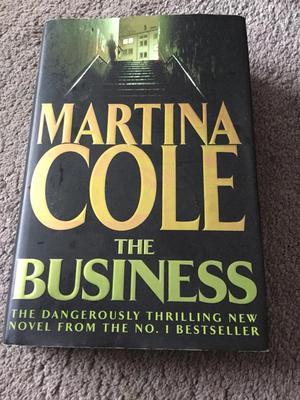 Martina Cole Hardback Book