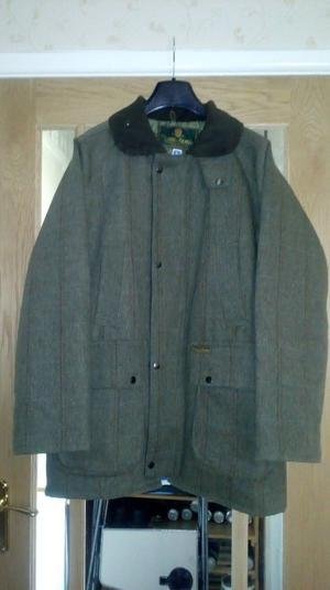 The Laird of Kilkelly Mens Tweed Country Hunting/Shooting Jacket. Size: Large.