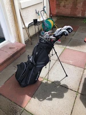 USED ONCE -F6 King Cobra driver and iron and bag set