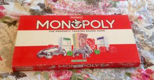 Waddingtons Monopoly Board Game. Vintage  Edition. 10 Tokens. Complete.