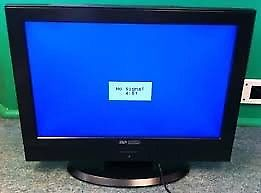 "19"" LCD TV BUILTIN FREEVIEW HDMI PORTS CAN DELIVER"