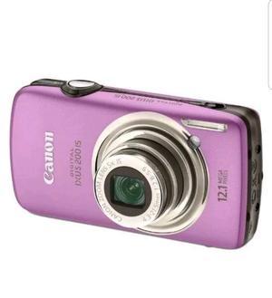 Canon IXUS 200IS Digital Camera - Purple (12.1 MP, 5x