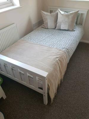 Brand new single bed and airsprung mattress