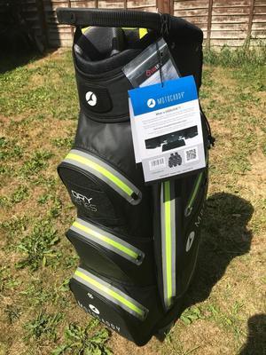 Motocaddy dry series easilock cart bag brand new in tatty box still in wrapper. £150