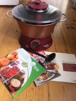 TEFAL VITAFRUIT ELECTRIC JAM AND MARMALADE MAKER + RECIPES