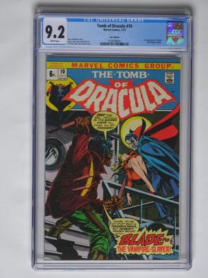 "Tomb Of Dracula #10 - ""Blade... The Vampire Slayer!!"" -"