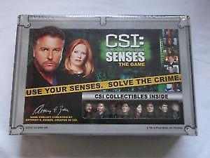 CSI Senses - Board Game (Crime)