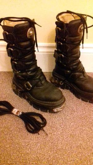 New Rock biker boots