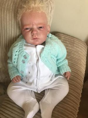 Reborn baby boy doll 6lb