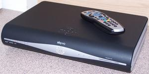 SKY HD Box Plus + HD Box, Remote Control and Card