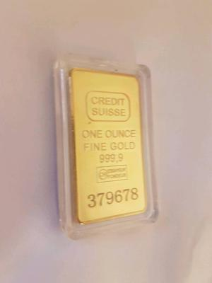 1oz 24k gold plated bullion bar
