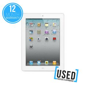 "APPLE IPAD 2 64GB 9.7"" WHITE WIFI ONLY TABLET DEVICE *USED"