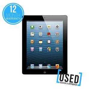 """APPLE IPAD 4 32GB 9.7"""" BLACK WIFI ONLY TABLET DEVICE *USED"""