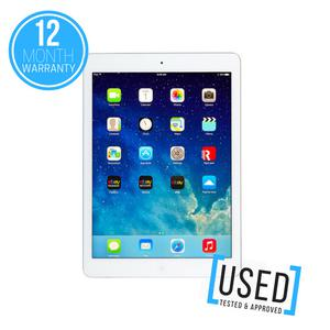 """APPLE IPAD AIR 128GB 9.7"""" SILVER WIFI ONLY TABLET DEVICE"""