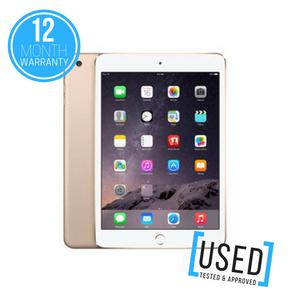"""APPLE IPAD MINI 3 16GB 7.9"""" GOLD WIFI ONLY TABLET DEVICE"""