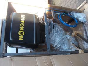 Brand New - Turbo Diesel Outboard Engine - 60HP With all controls & Steering - Key Start