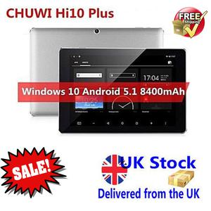 CHUWI HI10 PLUS 10.8 inch Tablet PC Windows 10 + Android