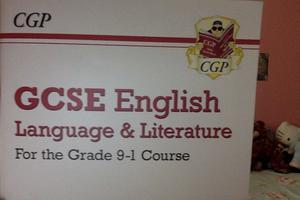 GCSE english language &literature CGP workbook