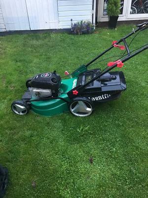 Heavy duty qualcast lawn mower needs carb