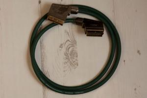 IXOS Gold Plated AV Scart Cable (1.5m)