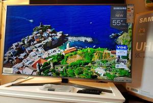 Samsung 55 inch 4K Ultra HD HDR Smart led tv UE55MU with built-in WiFi, advanced processor.