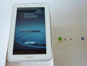 "Samsung Galaxy TAB 2 8GB Wifi Tablet 7"" GT-P White Boxed"