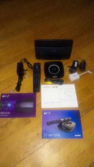 BT Youview Box & BT Hub For Sale