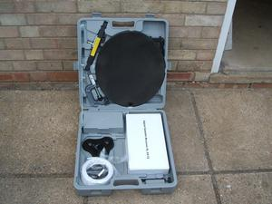Caravan and camping portable satellite system