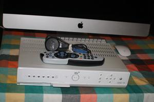 SKY BOX WITH REMOTE CONTROL AND POWER CABLE.