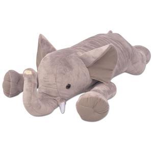 vidaXL Plush Cuddly Toy Elephant XXL 95 cm Children Soft