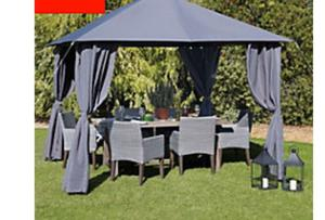 3m x 3m gazebo, only used once, £55