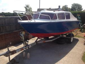 Ace 16ft 2 berth cabin boat